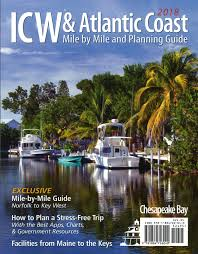 Icw Mileage Chart Bluewater Books Charts Intracoastal Waterway Icw