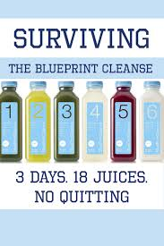 surviving the blueprint cleanse 3 days 18 juices no quitting