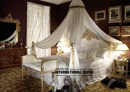 ... Romantic Canopy White 4 Poster Bed Canopy Four Poster Bed Canopy, Canopy  Bed