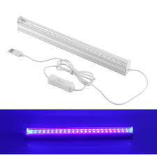 24 Led Light Fixture Us 11 27 49 Off 6w Dimmable Uv 24led Black Light Fixtures Portable Black Light Lamp Uv Poster Uv Art Blacklight Lamp For Dj Party Holidays In