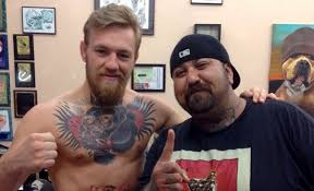Ufc Star Conor Mcgregor Gets A Giant Tiger Tattoo On His Belly For