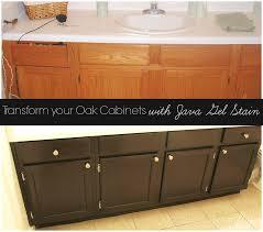 Update Oak Cabinets Refinish Oak Cabinets Darker Roselawnlutheran