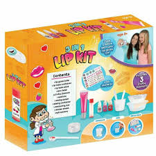 3 in 1 diy lip balm kit make your own gloss lush fruity flavours kids lipstick