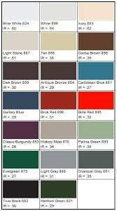 Metal Sales Color Chart You Will Love Exterior Brick Color Chart 2019