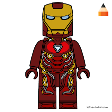 Download printable iron spider in infinity war coloring page. Drawing Lego Avengers Infinity War