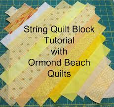 Here's Part 2 of the String Quilt Tutorial! (Part 1 is over here ... & Here's Part 2 of the String Quilt Tutorial! (Part 1 is over here. Adamdwight.com