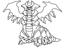 Pokemon Indigo League Coloring Pages