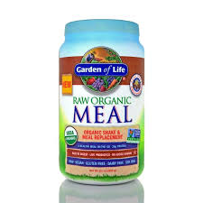 garden of life organic raw meal large tubs