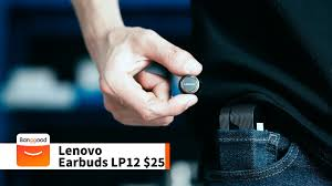 <b>Lenovo LP12</b> earbud | LivePods review | Buy at banggood - YouTube