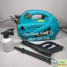 Máy rửa xe Zukui S4 2000W- tặng bình xà phòng và ống nối dài