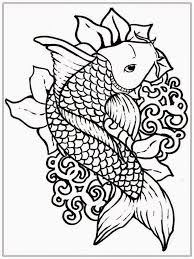 Small Picture Koi Fish Coloring Pages For Adults ColoringStar In Style