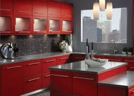 kitchen color ideas red. Wondrous Design Ideas Red Kitchen Cabinets Dark For Bright What Color Walls With Black Glaze R