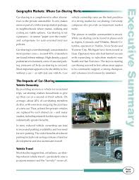 new release of carExecutive Summary  CarSharing Where and How It Succeeds  The