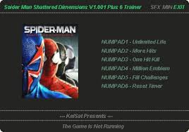 spider man shattered dimensions trainer
