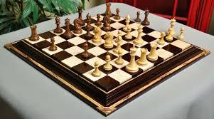 the camaratta signature series cooke luxury chess set board combination
