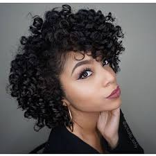 13 unique short natural hairstyles with flexi rods photos
