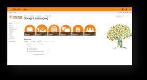 Microsoft Sharepoint Templates Sharepoint Smart Templates Ripped Orange