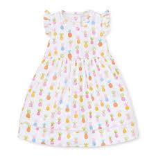 Kissy Kissy Pineapples Print Dress Toddler 2t