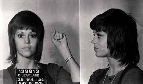 jane fonda mugshot  tumblr