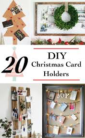 Diy Christmas Card Holder Ideas