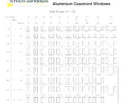 Window Sizes Bay Window Sizes Standard Average Window Length