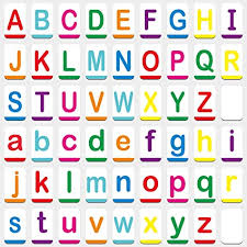 Former president trump's 2nd impeachment trial begins today. Amazon Com Hebayy Magnetic Alphabet Abc Flash Cards With Large Uppercase And Lowercase Letters 5 5 X 3 5 54 Pcs Toys Games
