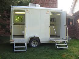 Bathroom Trailer Rental Indianapolis Portable 40 Custom Trailer Bathroom Rental