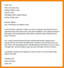 landlord termination of lease letter 10