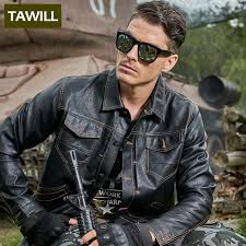 tawill military pilot leather jacket men army er motorcycle men jackets coats fashion men s jacket new brand clothing p888 in faux leather coats from