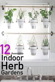12 awesome indoor herb garden ideas