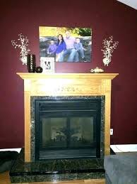mantel height gas fireplace mantels with above of mantle in foot ceiling hearth