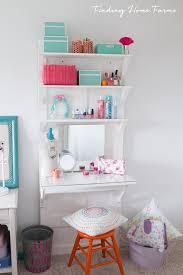 vanity desk from old door