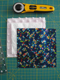 Making a Rag Quilt: A Tutorial on Craftsy & Fabric and Batting, Rotary Cutter Adamdwight.com