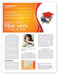 Education Newsletter Templates Higher Education Newsletter Template For Microsoft Word