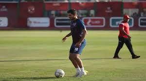 محمد شريف يعود من الإصابة وينتظم في تدريبات الأهلي