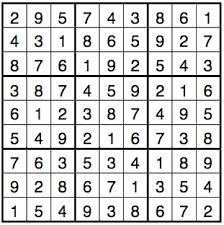 Sudoku Puzzel Solver Mathematics And Sudokus Solving Algorithms Ii