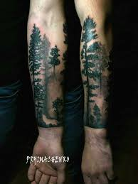 Tattoo Uploaded By Dmitry Khudik Foresttattoo Forest Woodland