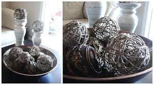 Decorative Balls For Bowl TristinandCompany Decorative Jute Balls 36