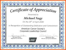 Certificate Of Recognition Wordings Recognition Certificates Wording Sample Certificate Of Appreciation