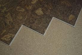 acoustic installation cork floor cork floor