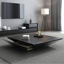 casterlin solid coffee table with