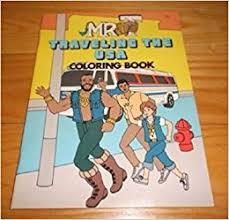 mr t traveling the usa coloring book big t s enterprises inc creative colors ruby spears enterprises inc 9780913133323 amazon books