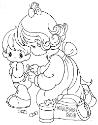 Small Picture 130 best Precious Moments Coloring Pages images on Pinterest