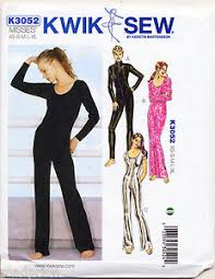 Bodysuit Sewing Pattern Unique KWIK SEW SEWING PATTERN 448 MISSES SZ 4848 DANCEWEAR CATSUIT