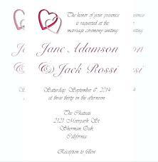Wedding Invitation Format Wording Templates Uk Helenamontana Info