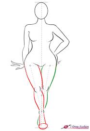 Blank Fashion Design Templates Adorable Curvy Body Silhouette Size Fashion Figure Step 48 Crafts