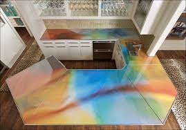 Concrete Countertops For The Kitchen  A Solid Surface On The Concrete Countertops Cost Vs Granite