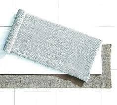 bathroom extra long bath rug black mat runner sets with memory foam ultimate contour set