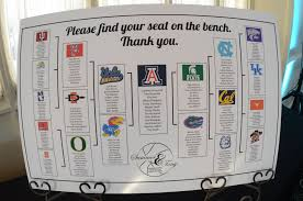 This Was Our Seating Chart For The Wedding Just Like