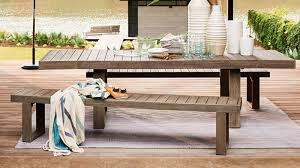 Image Portside Outdoor Portside Expandable Dining Table West Elm The Manual Best Patio Furniture The Perfect Summer Starts Here The Manual